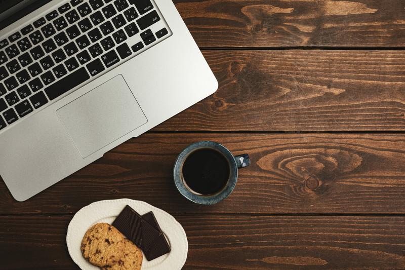 PCとチョコとコーヒー